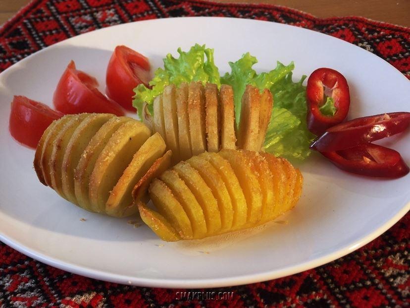Печена картопля по-шведськи