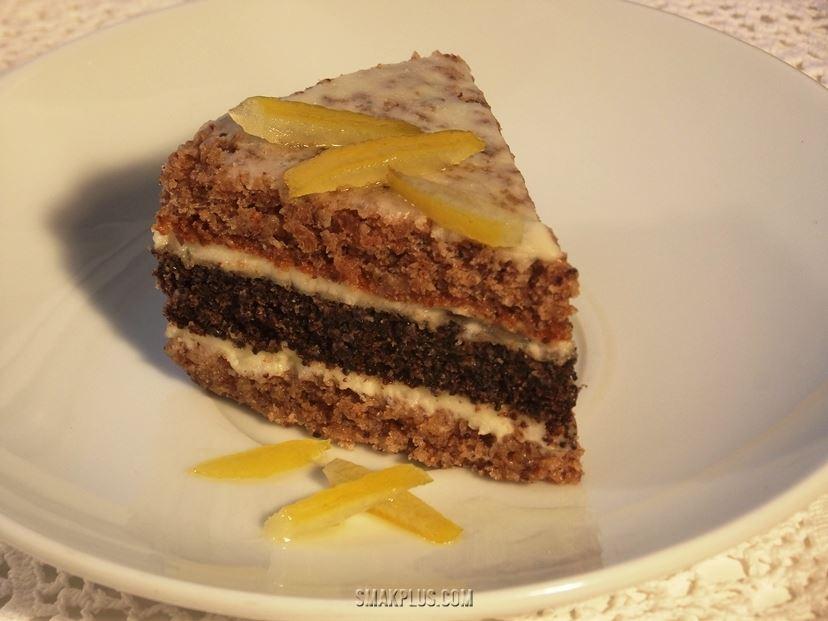 Торт з маком і горіхами – Пляцок з маком і горіхами