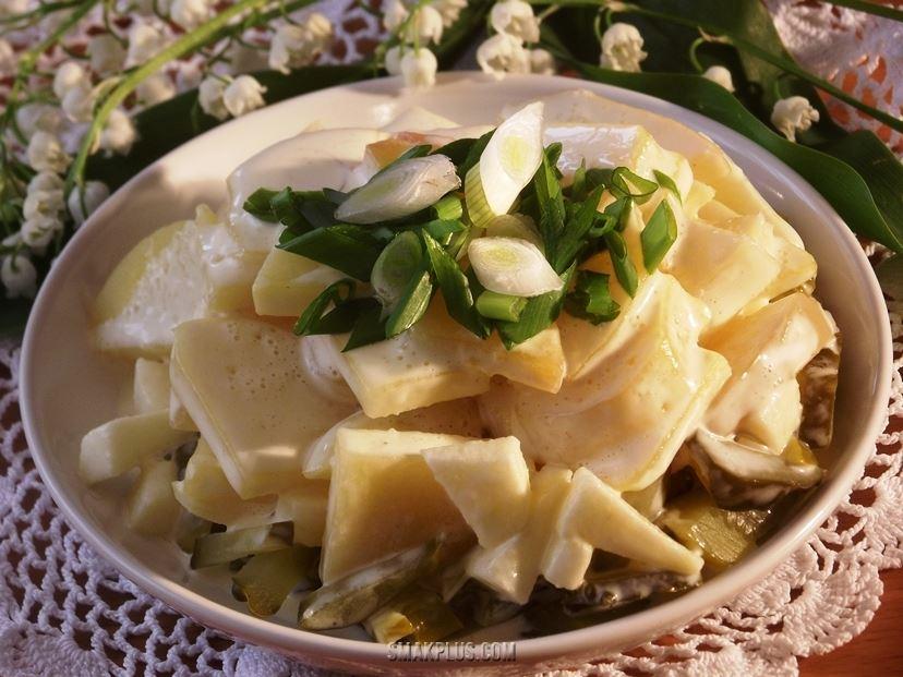 Картопляний салат по-німецьки