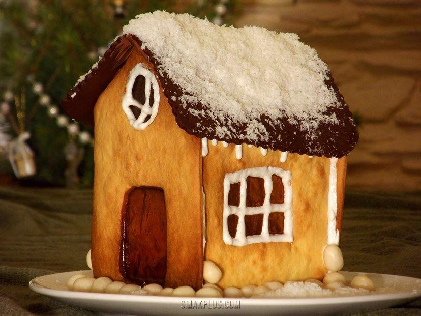 Різдвяне печиво 'Зимова хатка'