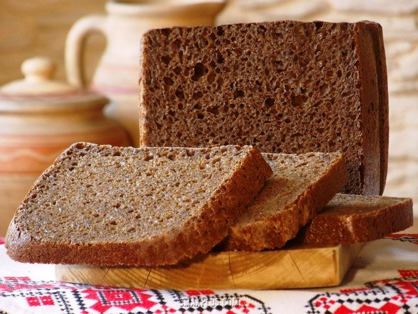 Домашній житній хліб – Рецепт хліба на заквасці