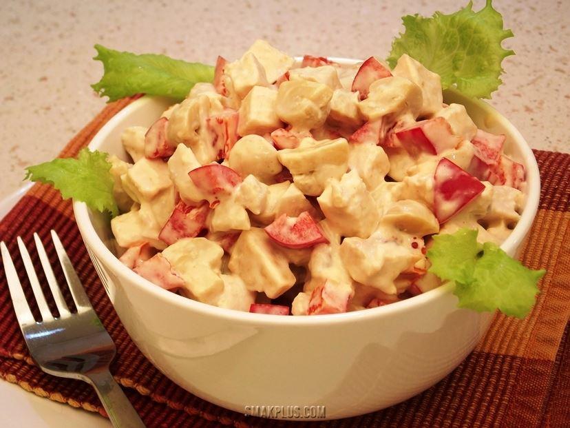 Оригінальний салат з куркою