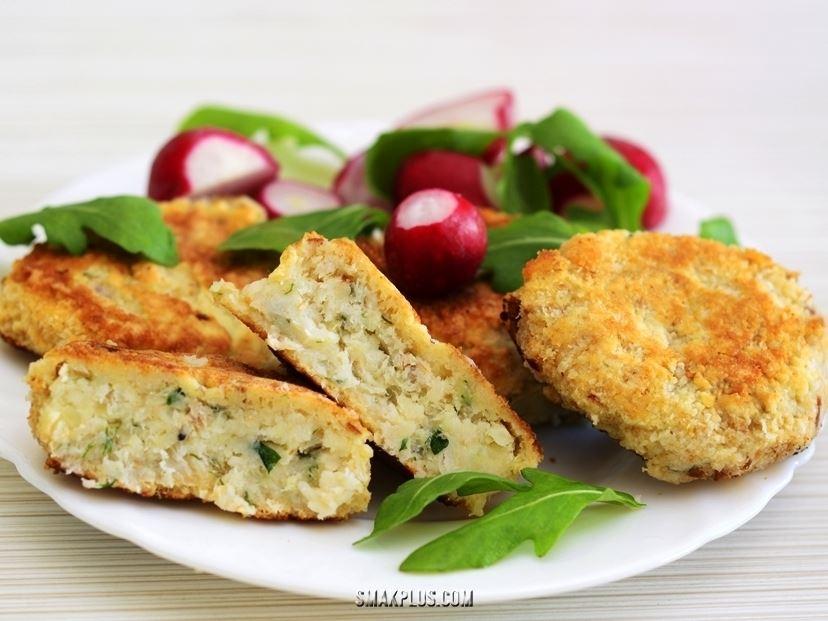 Ніжні рибні тюфтельки – котлетки з риби і картоплі
