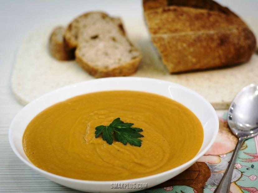 Крем-суп з сочевиці